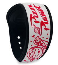 Disney World Toy Story Alien Pizza Planet White Red Magicband Linkable - New