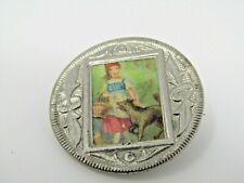 Little Red Riding Hood Antique Pin