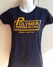 Polymer Records (esto es espinal Tap)) Last Exit para nada M Navy Camiseta Skinny