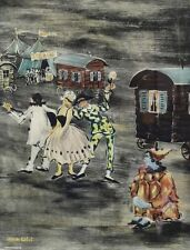 Claude Tabet (1924-1979) Colored Lithograph, Signed