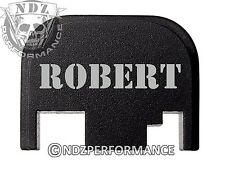 for Glock Rear Plate 17 19 21 22 23 27 30 34 36 41 Blk G1-4 Names Robert