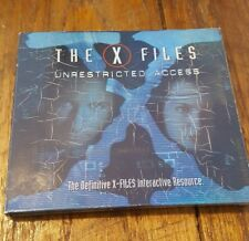 The X-Files X Files Unrestricted Access PC 2 CDs