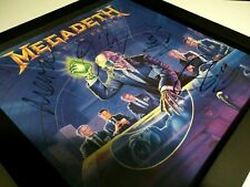 MEGADETH ‎– Rust In Peace – 1st press – FULLY SIGNED by the ORIGINAL LINEUP!
