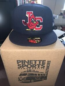 Johnson City Cardinals Road MiLB New Era 59Fifty Cap Hat Size 7 3/8 St. Louis