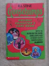 Goosebumps RL Stine Holiday Collector's Caps PB Book Scholastic 1995