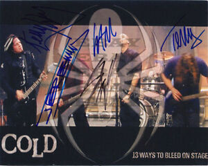 Scooter Ward Terry Sam Jeremy Kelly - COLD Autographed Signed 8x10 Photo Reprint