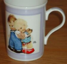 "Mabel Lucie Attwell MUG ""Children Helping Children"" Friends Forever porcelain"