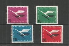 Allemagne de l'Ouest 1955 Lufthansa Airways SG, 1131-1134 M/Comme neuf lot 6809 A