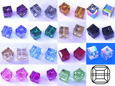 Cube/ Square/ Rectangular Jewellery Making Crystal & Cut Glass Craft Beads