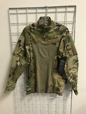 Multicam Army Combat Shirt Type II ACS LARGE Flame Resistant 1/4 Zippered NWT