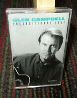 GLEN CAMPBELL: UNCONDITIONAL LOVE MUSIC CASSETTE TAPE, CAPITOL RECORDS, GUC