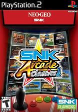 SNK Arcade Classics vol. 1 PS2 New Playstation 2
