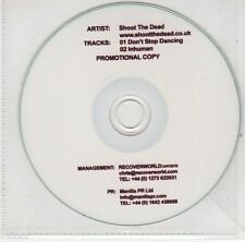 (EJ225) Shoot The Dead, Don't Stop Dancing - DJ CD