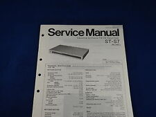 Technics ST-S7 Service Manual