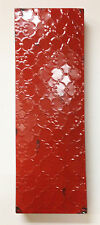 """20"""" Industrial Letter I, Embossed 20"""" Large Rustic Red Metal Wall Letter I"""