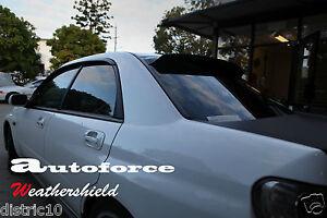 HIC REAR ROOF SPOILER FOR SUBARU IMPREZA WRX STI 2000-2007 4 DOOR SEDAN VISOR