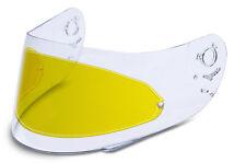 KBC helmets Pinlock insert - VR1/VR1X, XP3, FFR(Flip front) & TK8 - Yellow