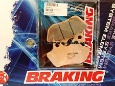 FOR HARLEY DAVIDSON FLTR/I ROAD GLIDE 1450 2001 01 REAR SINTERED BRAKE PADS BRAK