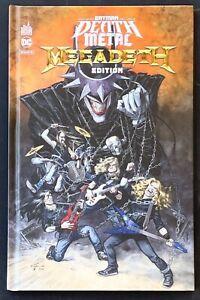Batman Dark Nights Death Metal 1 Megadeth Band Hardcover Guarnido Capullo Snyder