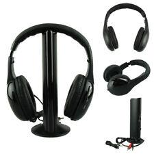 5IN1 Wireless Headphone Casque Audio Sans Fil Ecouteur Hi-Fi Radio FM TVMP3 SoGA