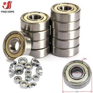 1/10pcs Deep Groove Ball Bearings 623/608/605/625/626/688zz High Speed Bearings