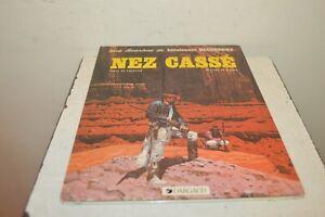 Comics Adventure The Lieutenant Blueberry Nose Breakage Dargaud 1984