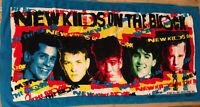 Vintage New Kids On The Block Bath Beach Towel NKOTB 1989 Jay Franco