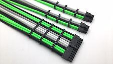 4 Straight Sleeved Extension Cable Combs 24pin 8pin 4pin ATX CPU, 8pin 6pin PCIE