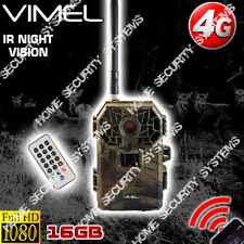 Trail Camera 4G Security Hunting Remote Control View on Phone 3G SMS Control