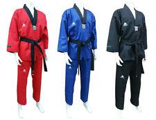 Taekwondo Color Uniform SANGMOOSA Poomsae Dan Dobok Karate Hapkido Training Wear