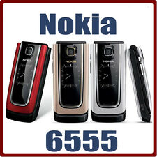 6555 Original Nokia 6555 Mobile Phone 3G MP3 Bluetooth Russian Arabic Keyboard