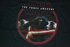 Star Wars The Force Awakens T-Shirt Men's Size: Small  Color: Black  New W/ Tag!