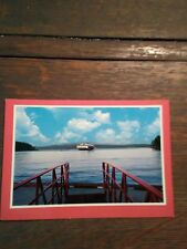 THE VINTAGE EVERGREEN STATE PHOTO POST CARD WASHINGTON STATE FERRIES