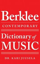 The Berklee Contemporary Dictionary of Music Berklee Guide Book NEW 000122072