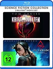 SCIENCE FICTION COLLECTION  2 BLU-RAY NEU TOM CRUISE/CHARLIZE THERON/+