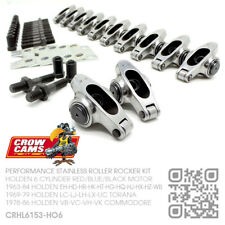 CROW CAMS ROLLER ROCKERS 6 CYL 161-173-186-202 [HOLDEN HK-HT-HG-HQ-HJ-HX-HZ-WB]