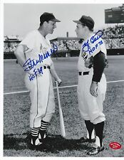 Stan Musial and Yogi Berra Autographed 8x10 Photo w/Stan The Man Cert and Holo