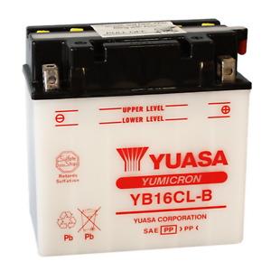 Batteria Yuasa YB16CL-B 12 V 19 Ah 240 CCA Yuasa YB16CL-B 12 V