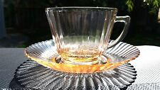 Pink MacBeth-Evans Petalware Cup And Saucer Set