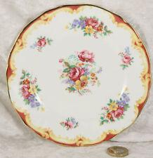 Royal Adderley fine bone china small side plates x 2 floral design lot number 3