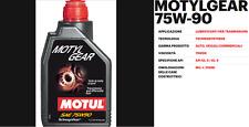 1 LITRO OLIO MOTUL MOTYL GEAR SAE 75W90 PER TRASMISSIONE- CAMBIO MANUALE
