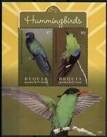 Bequia Gren St Vincent 2019 MNH Hummingbirds Hummingbird 1v S/S Birds Stamps