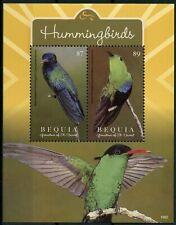Bequia Gren St Vincent 2019 MNH Hummingbirds Hummingbird 1v S/S Birds Stamps