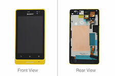 Genuine Sony ST27i Xperia Go Yellow LCD Screen & Digitizer - 1264-8199