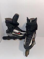 New listing VTG Nike Carbon Zoom Air Inline Street Hockey Skates Roller Blades Sz 9.5 Men
