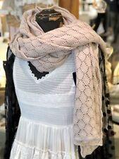jeanne d arc living Schal Winter Vintage Altrosa Neu JDL