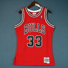100% Authentic Scottie Pippen Mitchell & Ness Bulls Swingman Jersey Size M 40