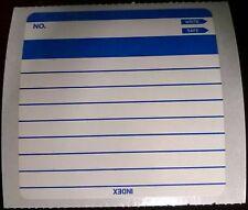 100x Floppy Disk Index Labels Multi-Purpose NEW OLD STOCK