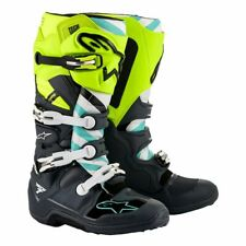 2020 Alpinestars Tech 7 LE Anaheim 20 Stiefel Grey Yellow - Boots 11