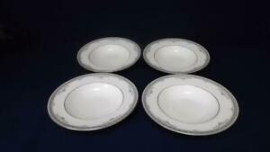 """ROYAL DOULTON YORK 8"""" LIPPED BOWLS X 4 - 1st QUALITY  EXCELLENT"""